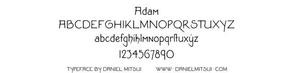 ADAM TYPEFACE