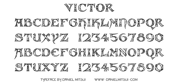 VICTOR TYPEFACE