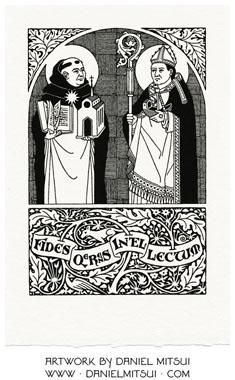 SS. THOMAS AQUINAS & ANSELM of CANTERBURY